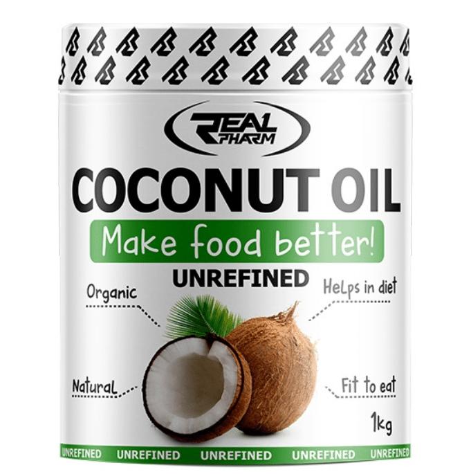 Real Pharm Kokosų aliejus 1kg. Nerafinuotas