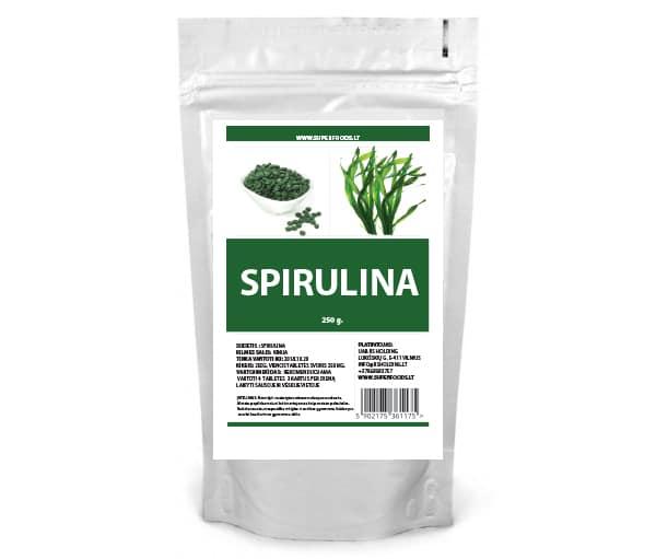 Superfoods Spirulina Tabletės