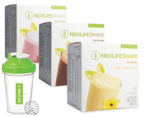 NeoLifeShake baltymų ir vitaminų kokteilis