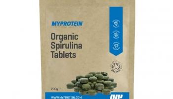 MyProtein Organinės Spirulina Tabletės 200g