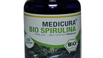 Medicura Bio Spirulina 150 tablečių 60g.