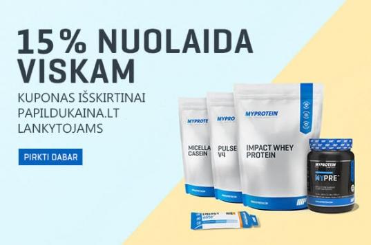 MyProtein Kuponas