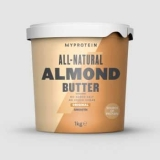 Natūralus migdolų riešutų sviestas 1kg – MyProtein