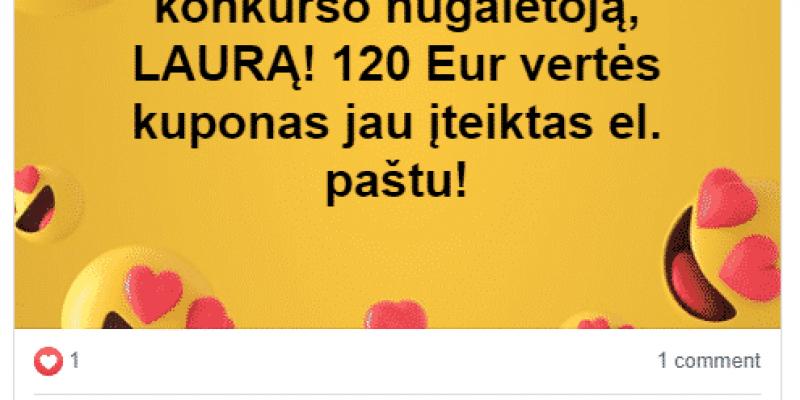 Spalis: Laimėk 120 Eur vertės nuolaidų kuponą myprotein.lt prekėms