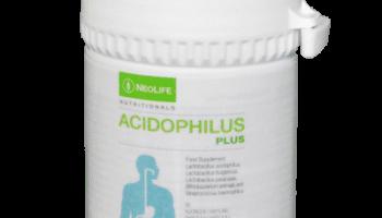 NeoLife, Acidophilus Plus, bakterijos žarnynui 60 kaps.