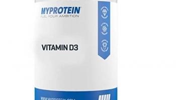 MyProtein Vitaminas D3 180 kapsulių