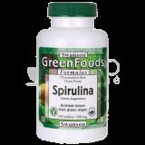 Swanson Spirulina tabletės, 500 mg, N180