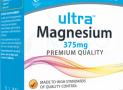 Vitabiotics Ultra Magnesium Magnio Tabletės, N60