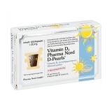 Pharma Nord D-PEARLS vitaminas D3, 80 kapsulių